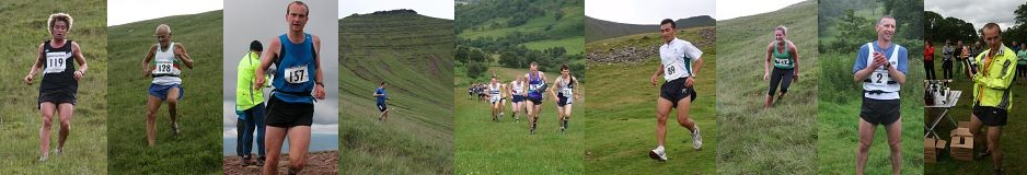 Images from the Pen y Fan and Fan y Big Horseshoe races